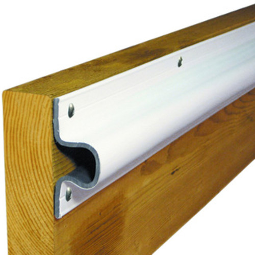 Dock Edge C-Guard 24' Rubrail Dock Bumper, White