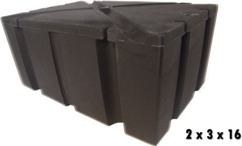 "HarborWare 2' x 3' x 16"" Dock Float Drums, 403lbs"