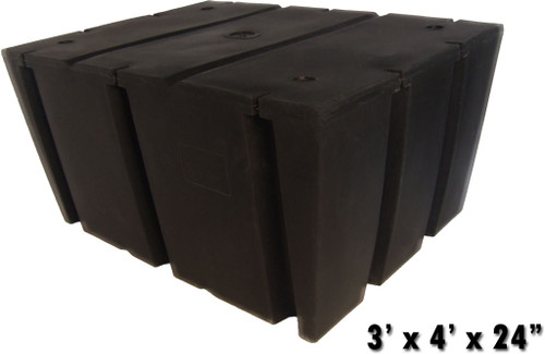 "HarborWare 3' x 4' x 24"" Dock Float Drums, 1210lbs"