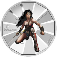2016 $10 FINE SILVER COIN BATMAN V SUPERMAN: DAWN OF JUSTICE™ - WONDER WOMAN™