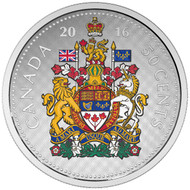2016 50-CENT FINE SILVER COIN – BIG COIN SERIES (COLOURED) - HALF DOLLAR