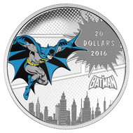2016 $20 FINE SILVER COIN DC COMICS™ ORIGINALS: THE DARK KNIGHT™