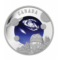 2009 $30 STERLING SILVER COIN - INTERNATIONAL YEAR OF ASTRONOMY
