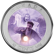 2016 25-CENT COIN HAUNTED CANADA: BELL ISLAND