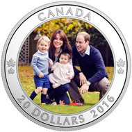 2016 $20 FINE SILVER COIN A ROYAL TOUR