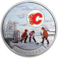 2017 $10 FINE SILVER COIN PASSION TO PLAY: CALGARY FLAMES®