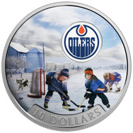 2017 $10 FINE SILVER COIN PASSION TO PLAY: EDMONTON OILERS®
