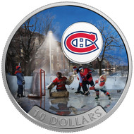 2017 $10 FINE SILVER COIN PASSION TO PLAY: MONTREAL CANADIENS®