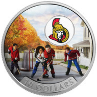 2017 $10 FINE SILVER COIN PASSION TO PLAY: OTTAWA SENATORS®