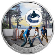 2017 $10 FINE SILVER COIN PASSION TO PLAY: VANCOUVER CANUCKS®