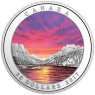 2017 $20 FINE SILVER COIN- WEATHER PHENOMENON FIERY SKY