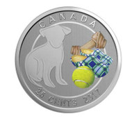 2017 25-CENT COIN LOVE MY DOG