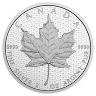 2017 $10 FINE SILVER COIN CANADA 150 ICONIC MAPLE LEAF