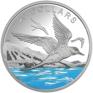 2017 $20 FINE SILVER COIN GLISTENING NORTH: THE ARCTIC TERN