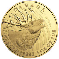 2017 $200 PURE GOLD COIN ELK