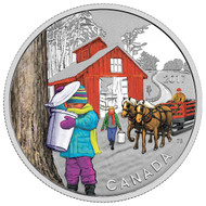 2017 $10 FINE SILVER COIN THE SUGAR SHACK