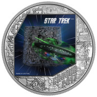 2017 $20 FINE SILVER COIN STAR TREK™ - THE BORG