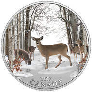 2017 $10 FINE SILVER COIN SPRING SIGHTINGS