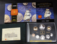 1999 PROOF DOUBLE DOLLAR SET