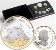 2010 PROOF DOUBLE DOLLAR SET