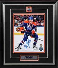Milan Lucic Edmonton Oilers - Eye On The Play - Signed 8x10 Photo