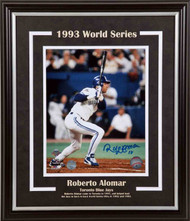 Roberto Alomar Toronto Blue Jays - 93 World Series - Signed 8x10 Photo