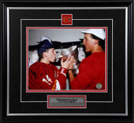 Theo Fleury Calgary Flames Drinking From Cup Signed 8x10 Photo
