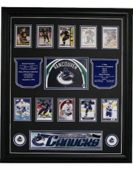 BOSTON BRUINS POSTCARD 11X14 FRAME