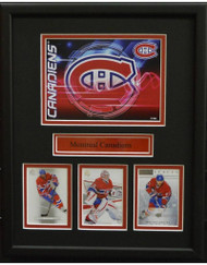 MONTREAL CANADIENS POSTCARD 11X14 FRAME