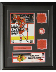 PATRICK KANE 16X20 FRAME - CHICAGO BLACKHAWKS