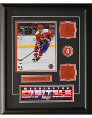 ALEX OVECHKIN 16X20 FRAME - WASHINGTON CAPITALS