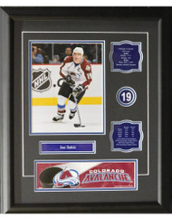 JOE SAKIC 16X20 FRAME - COLORADO AVALANCHE