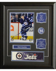 MARK SCHEIFELE 16X20 FRAME - WINNIPEG JETS