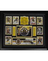 TEAM HISTORY - BOSTON BRUINS 16X20 FRAME