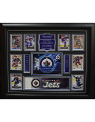 TEAM HISTORY - WINNIPEG JETS 16X20 FRAME
