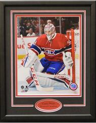 CAREY PRICE MAKING THE SAVE 11X14 FRAME - MONTREAL CANADIENS