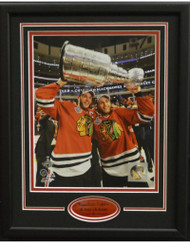 JONATHAN TOEWS & PATRICK KANE 11X14 FRAME - CHICAGO BLACKHAWKS