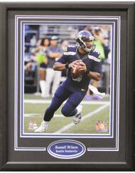 RUSSELL WILSON THROWING 11X14 FRAME - SEATTLE SEAHAWKS