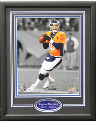 PEYTON MANNING THROW 11X14 FRAME - DENVER BRONCOS