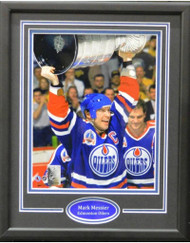 MARK MESSIER CUP 11X14 FRAME - EDMONTON OILERS