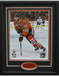 JONATHAN TOEWS SKATING 11X14 FRAME - CHICAGO BLACKHAWKS