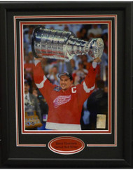 STEVE YZERMAN CUP 11X14 FRAME - DETROIT RED WINGS