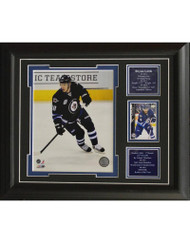 BRYAN LITTLE 13X16 FRAME - WINNIPEG JETS