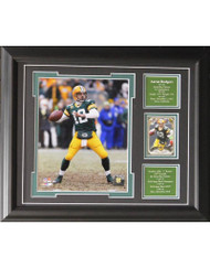 AARON RODGERS 13X16 FRAME - GREEN BAY PACKERS