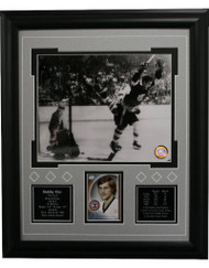 BOBBY ORR 13X16 FRAME - BOSTON BRUINS