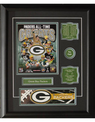 GREEN BAY PACKERS ALL-TIME GREATS 16X20 FRAME