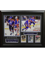 EDMONTON OILERS ALL-TIME GREATS 16X20 FRAME