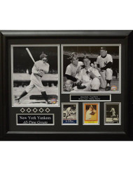 NEW YORK YANKEES ALL-TIME GREATS 16X20 FRAME
