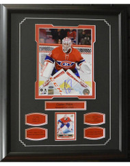 CAREY PRICE AUTOGRAPH 16X20 FRAME - MONTREAL CANADIENS