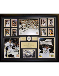 PITTSBURGH PENGUINS 2016 STANLEY CUP CHAMPIONS 22X28 FRAME